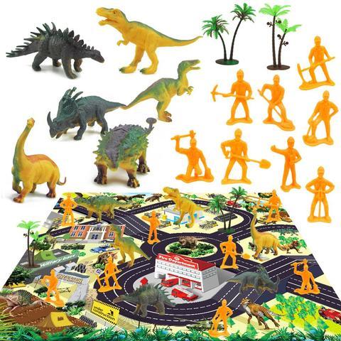 criancas dinossauro brinquedo simulacao animal modelo dinossauro