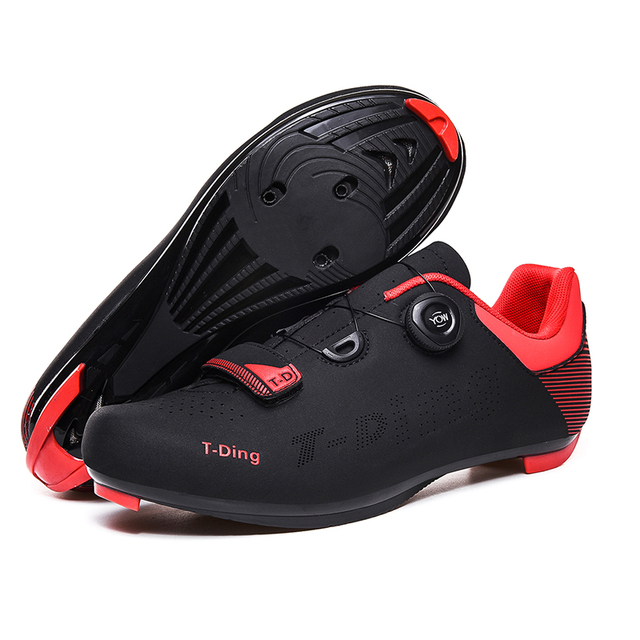 Homens sapatos de bicicleta de estrada tênis de bicicleta anti-deslizamento respirável sapatos de ciclismo auto-bloqueio triathlon sapatos atléticos zapatos 4