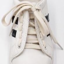 Weiou lacets 8.5MM Beige Polyester coton lacets cadeau spécial pour ami enfants âgés personnalisé en gros de haute qualité Cordons
