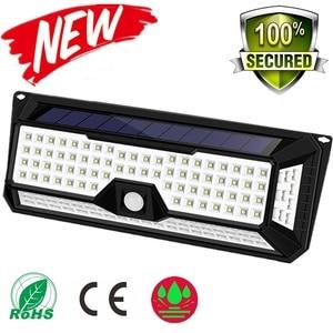 Image 1 - 180/136 LED Garden Solar LED Lights 1500LM Outdoor Solar Lamp Motion Sensor 320 Degree Waterproof IP65 Solar Security Light
