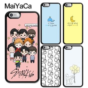 Niños Perdidos Felix Chan I.N TPU Coque de la caja del teléfono de la piel para iPhone XR XS Max X 11 Pro MAX 5S SE 2020 6 7 8 Plus cubierta