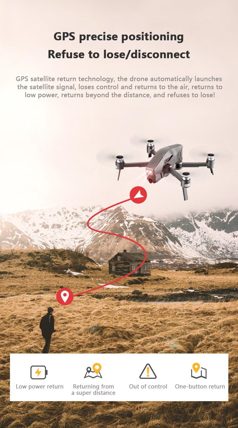 2km distância sem escova zangão 30 minutos de tempo de vôo rc quadcopter