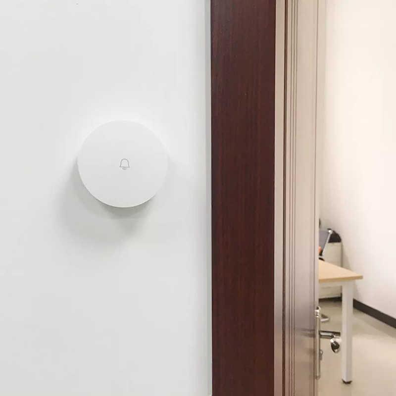 Obawa Cerdas Nirkabel Bel Pintu Tanpa Baterai Rumah Nirkabel Remote Tahan Air Smart Bel Pintu Xiaomi Mijia Mihome Aplikasi Wifi