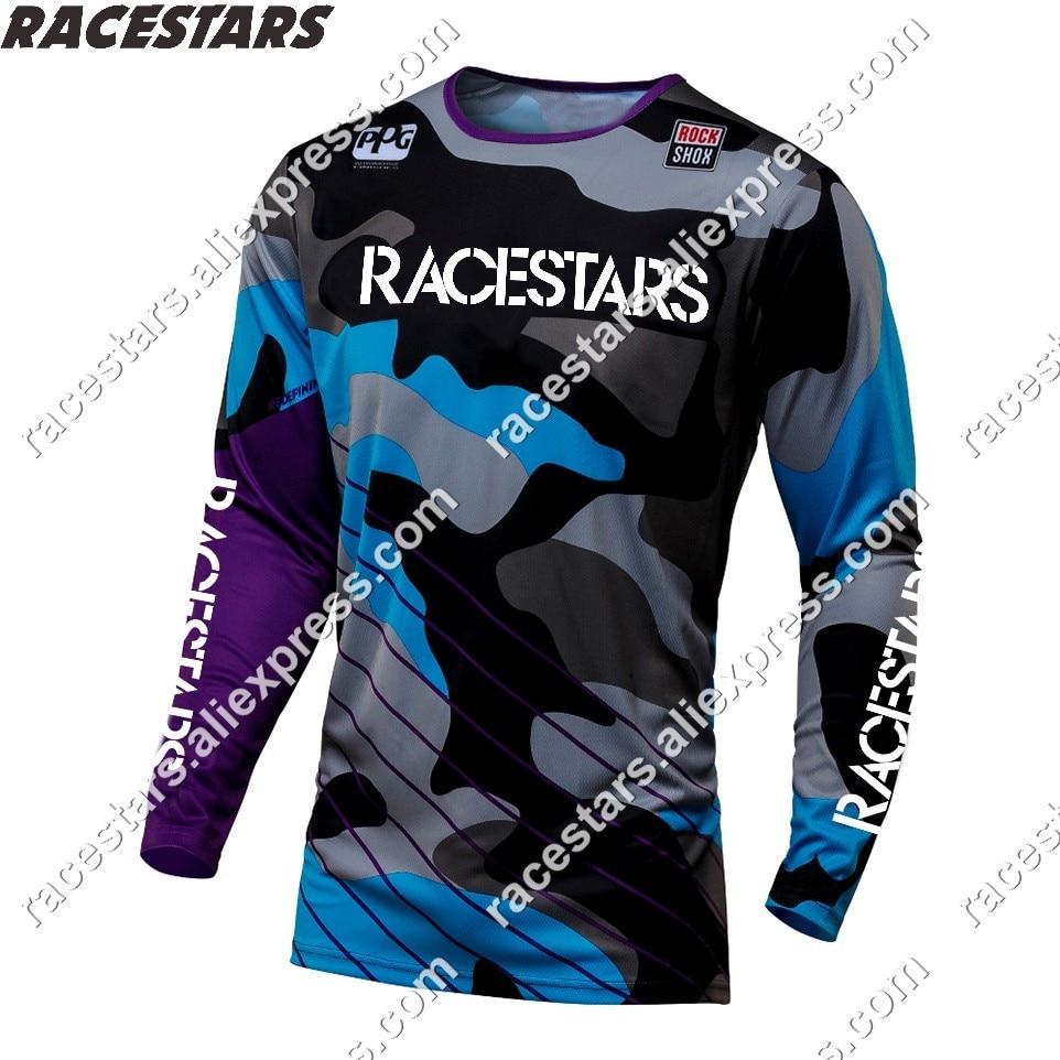 Новинка 2020, Джерси для мотокросса и мотокросса, велосипедная рубашка для горного велосипеда MX, летняя командная рубашка для горного велосип...