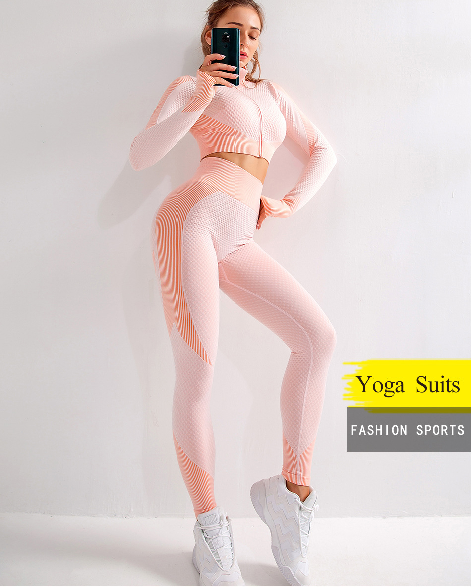 Suits yoga outfit  (5)