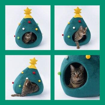 Christmas Tree Shape Winter Bed  2