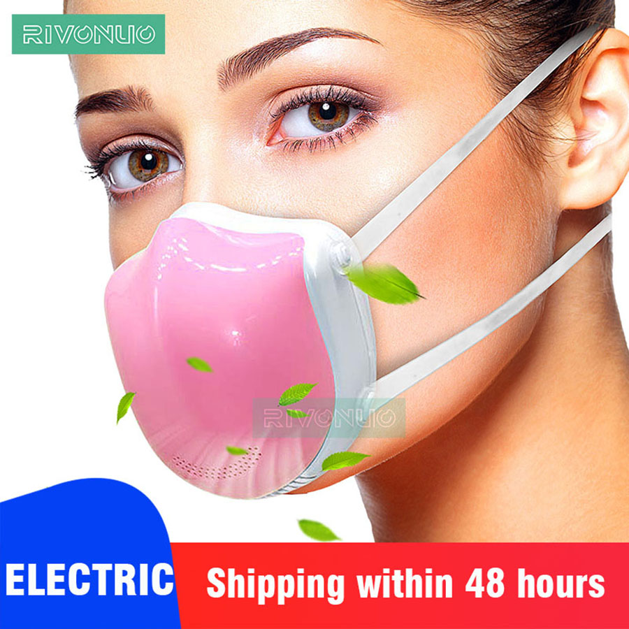 Health Protective Respirator Fashion Face Pollution Anti Dust Mask With HEPA Filter