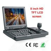 Sony video conference controller PTZ joystick Visca protocol SDI 3D Joystick PTZ Keyboard 1080P Resolution monitor SDI & CVBS