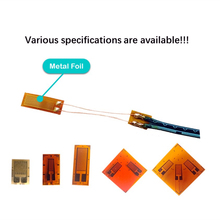Resistance Metal Foil Strain Gauge Pressure Sensor With Customizable Extended Wire For Load Cell Transducer(Default 30cm