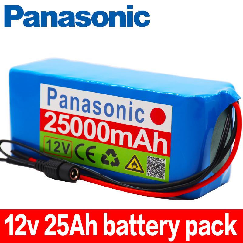 <font><b>18650</b></font> <font><b>Battery</b></font> <font><b>pack</b></font> Large capacity <font><b>12v</b></font> 25Ah <font><b>18650</b></font> lithium <font><b>battery</b></font> protection board <font><b>12v</b></font> 25000mAh for inverter miner light+charger image
