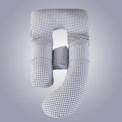 1 pieza de almohada multifuncional para mujeres embarazadas, almohada para dormir, cojín para soporte corporal para embarazo tipo U, almohada para lactancia