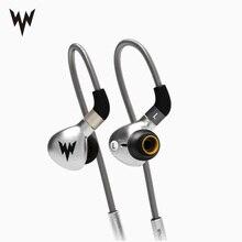Sport Bass Kopfhörer A15 HiFi Bass Hallo res Ohrhörer Metall In Ohr Headsets Dynamische Hallo res Earbuds MMCX stecker 3,5mm wired