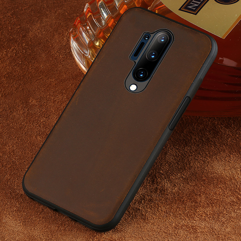 Original PULL-UP Leather Phone case For Oneplus 8 Pro 7 7T Pro 6 6T 5 5T 360 Full Protective cover For One Plus 7 Pro 7T 6T 8Pro