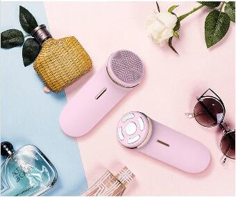 EMS Multi-function Electric Silicone Sound Wave Example Imported Facial Cleansing Beauty Instrument