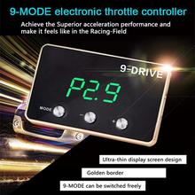 Car Electronic Throttle Controller for Modify Tune Grooming Maintain Refit Auto Gas Pedal Booster for Toyota Vios 2014 8 driv racing booster car upgrade strong booster auto throttle controller pedal commander for toyota sienna