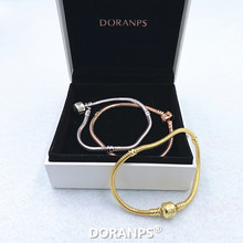 2020 Fine Jewelry Silver 925 bracelets for women charm bracelet bangle Christmas gifts,1pz