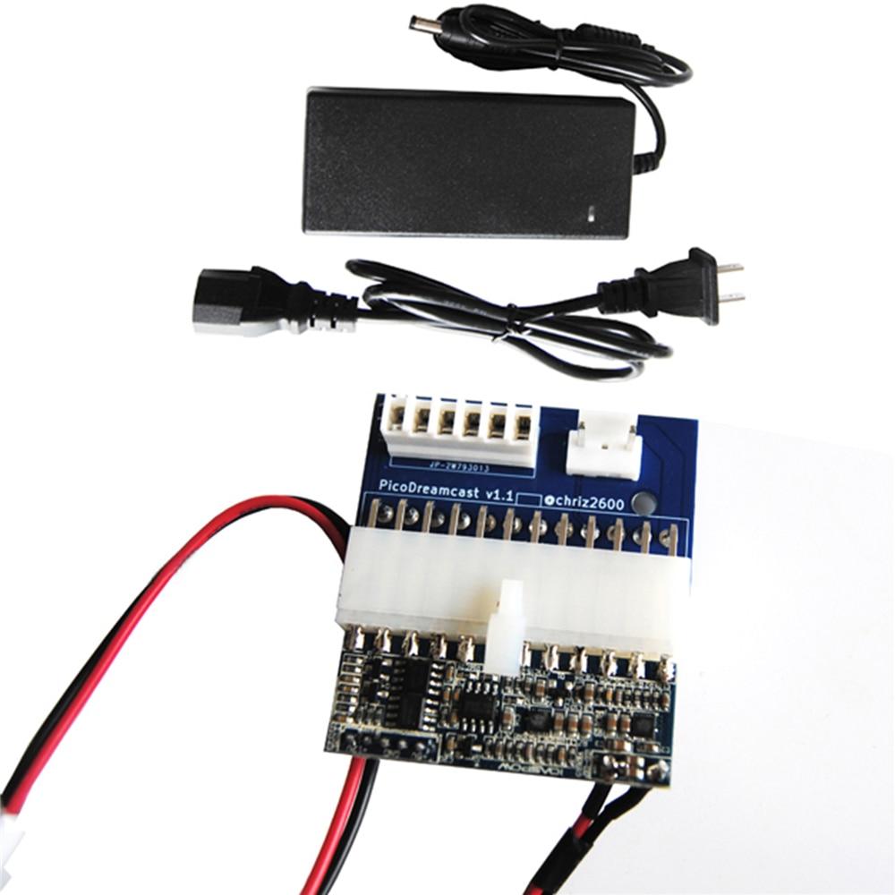 PICO PSU Power Supply For Sega Dreamcast 110V-220V 12V PICO Power Panel US Plug Power Adapter For Dreamcast Console