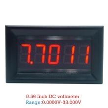 DC 0-33.000V (0-33V) Digital Voltmeter 5-digits bit High Precision Voltage Meter