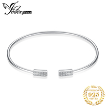 JPalace Crown Minimalist bracelet 925 Sterling Silver Bangles Bracelet Bracelets For Women Jewelry Making Organizer