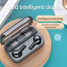 2020 Newest Wireless Bluetooth Earphone,Touch Control TWS Earbuds Waterproof Gam