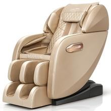 Heated Music Heating Sl Track Recliner Shiatsu Electric Full Body Foot 4d zero Gravity Massage Chair
