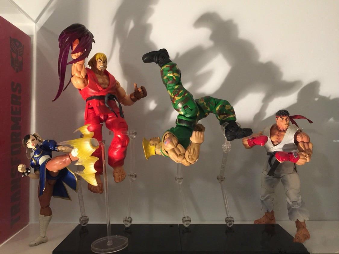 Bonecos realistas street fighter 18cm Classic Games