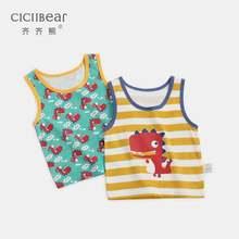 Ciciibear футболка для новорожденных мальчиков и девочек хлопковая