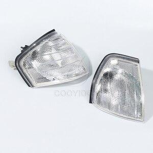 Image 5 - Cooyidom claro sinal de volta lâmpadas led espelho luzes de canto automático para mercedes benz c classe w202 1994 2000 1995 1996 acessórios