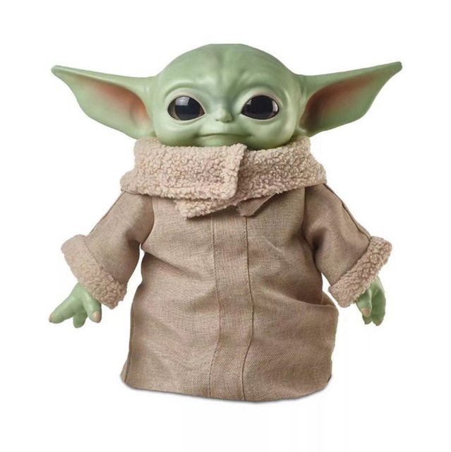 16CM Yoda Baby Action Figure Toys Hot Anime Baby Yoda Figure Action Toys Yoda Master Figuras Dolls Toy Gifts for ChildrenAction & Toy Figures