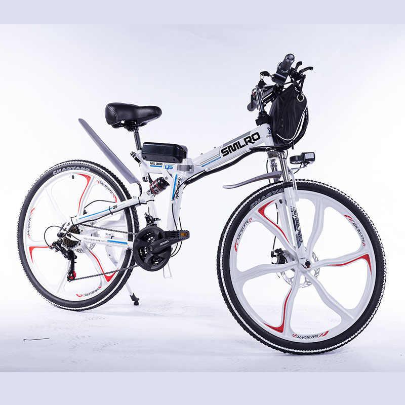 YTL 2020 Новый Дизайн Электрический велосипед складной e велосипед интегрированное колесо с литиевой батареей 48V 10AH
