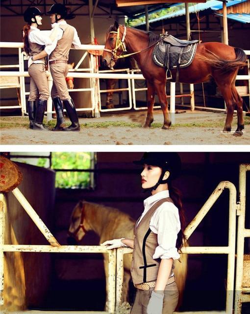 Fashionably Designed Horse Riding Cotton Pants For Women & Men  2
