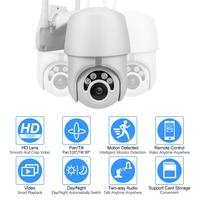 kebidumei Outdoor 1080p Home Surveilance WIFI Camera IP Camera PTZ IP Camera H.265X Speed Dome CCTV Security Cameras WIFI 2MP IR