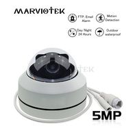 Speed Dome Camera Outdoor Onvif 4X Zoom Surveillance Mini Camera HD 5MP P2P PTZ IP Camera Outdoor P2P Waterproof Night Vision