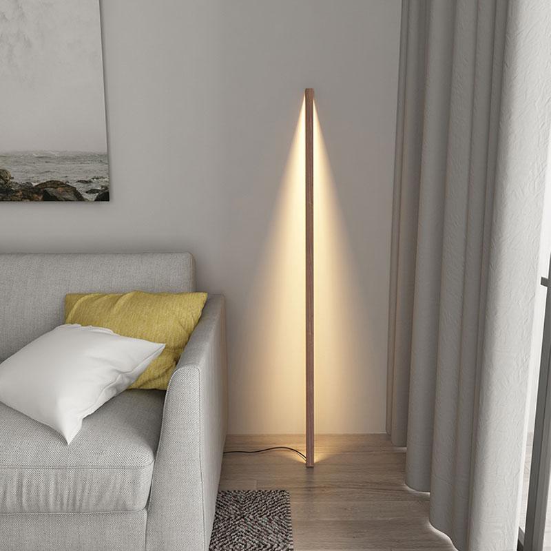 Nordic minimalista lâmpadas de assoalho sala estar