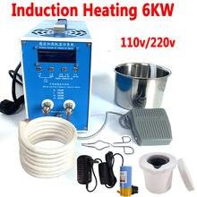 Индукционный нагреватель 6 кВт индукционный 110 В/220 В Металл