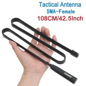 Image 2 - Antenne tactique pliable VHF/UHF 144/430MHz de larmée dabbree pour le talkie walkie de Radio de Baofeng UV XR UV 9R Plus