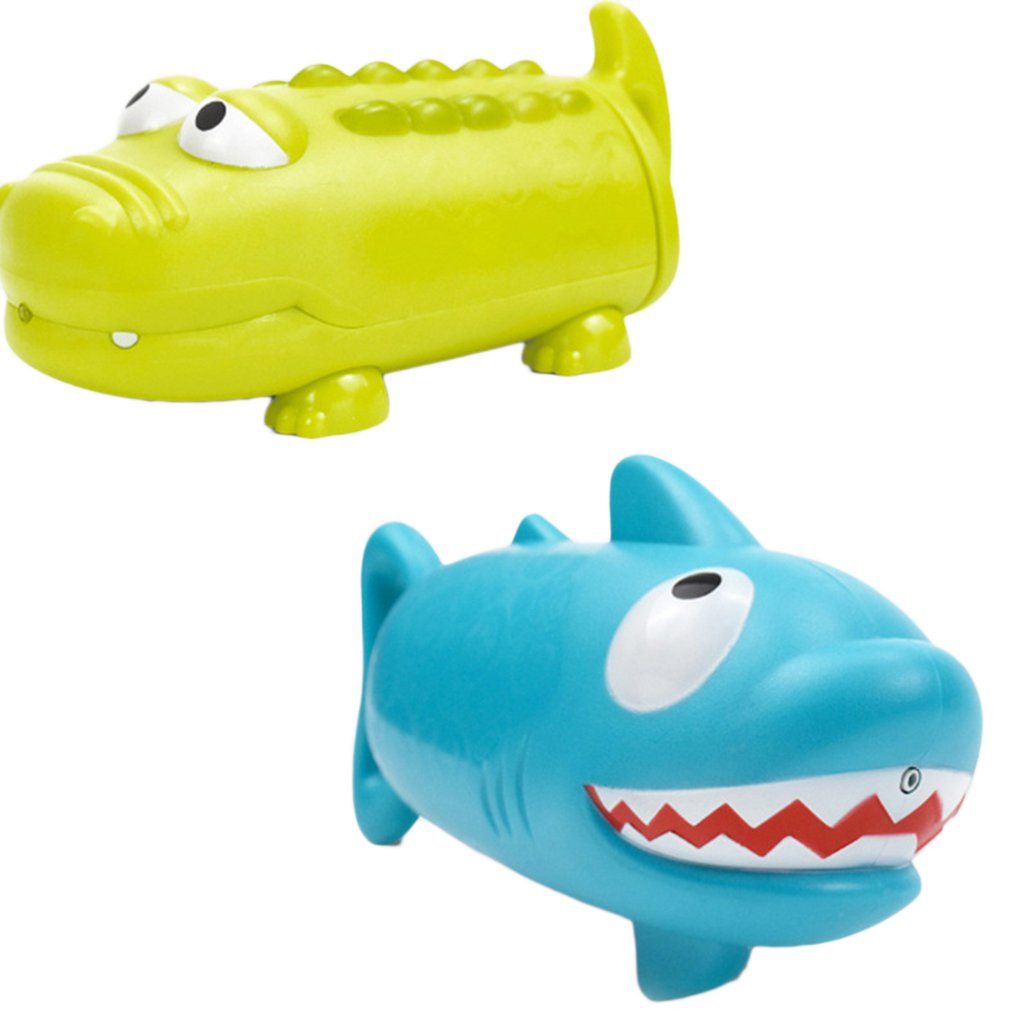 Pumping Water Crocodile Shark Animal Water Gun Summer Beach Pool Rafting Outdoor Spray Baby Bathroom Bath Toy