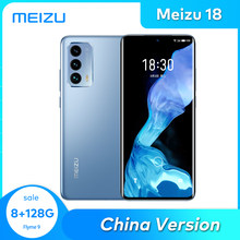 Meizu 18 8/12GB 128/256G Cellphone 5G Smartphone Snapdragon 888 Octa Core NFC UFS3.1 4000mAh 36W Quick Charger China Version