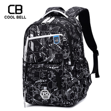 New Multifunction Printing Tracel Backpack Boys School Bags For Teenager Sprot Oxford Waterproof Male Schoolbag