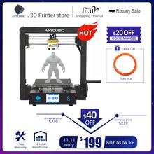 Anycubic Mega S 3D Printer Verbeterde Hoge Kwaliteit Extruderen Plus Size Tft Touch Screen Desktop Goedkope 3d Printer Kit impresora 3d