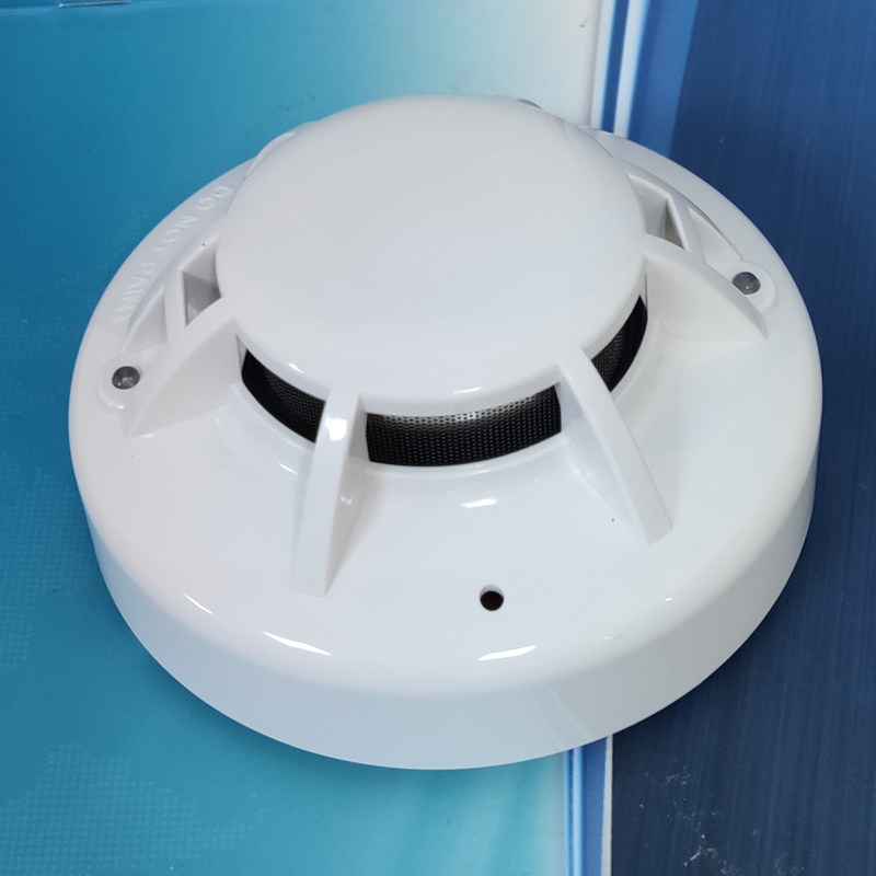 24V Conventional Smoke Detector 4 Wires Smoke Alarm And Conventional Beam Detector Linear Sensor With Relay Output
