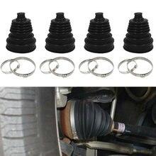 Acessórios do carro novo e de alta qualidade silicone velocidade constante cv boot conjunta kit poeira capa universal bola braçadeira redonda