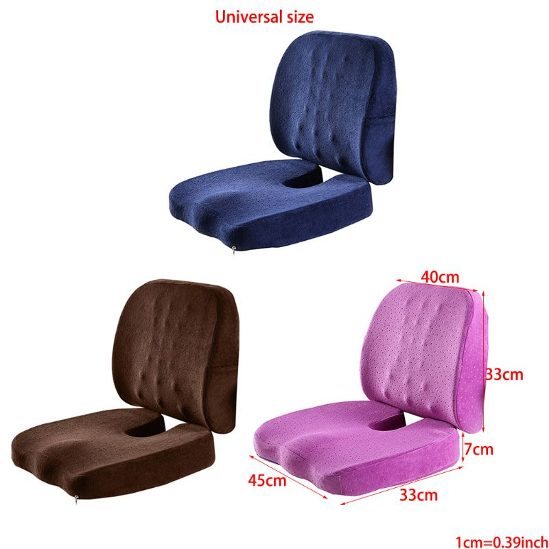 Maternity Pregnant Pillow Seat Cushion Coccyx Orthopedic Memory Foam And Lumbar Support Pillow