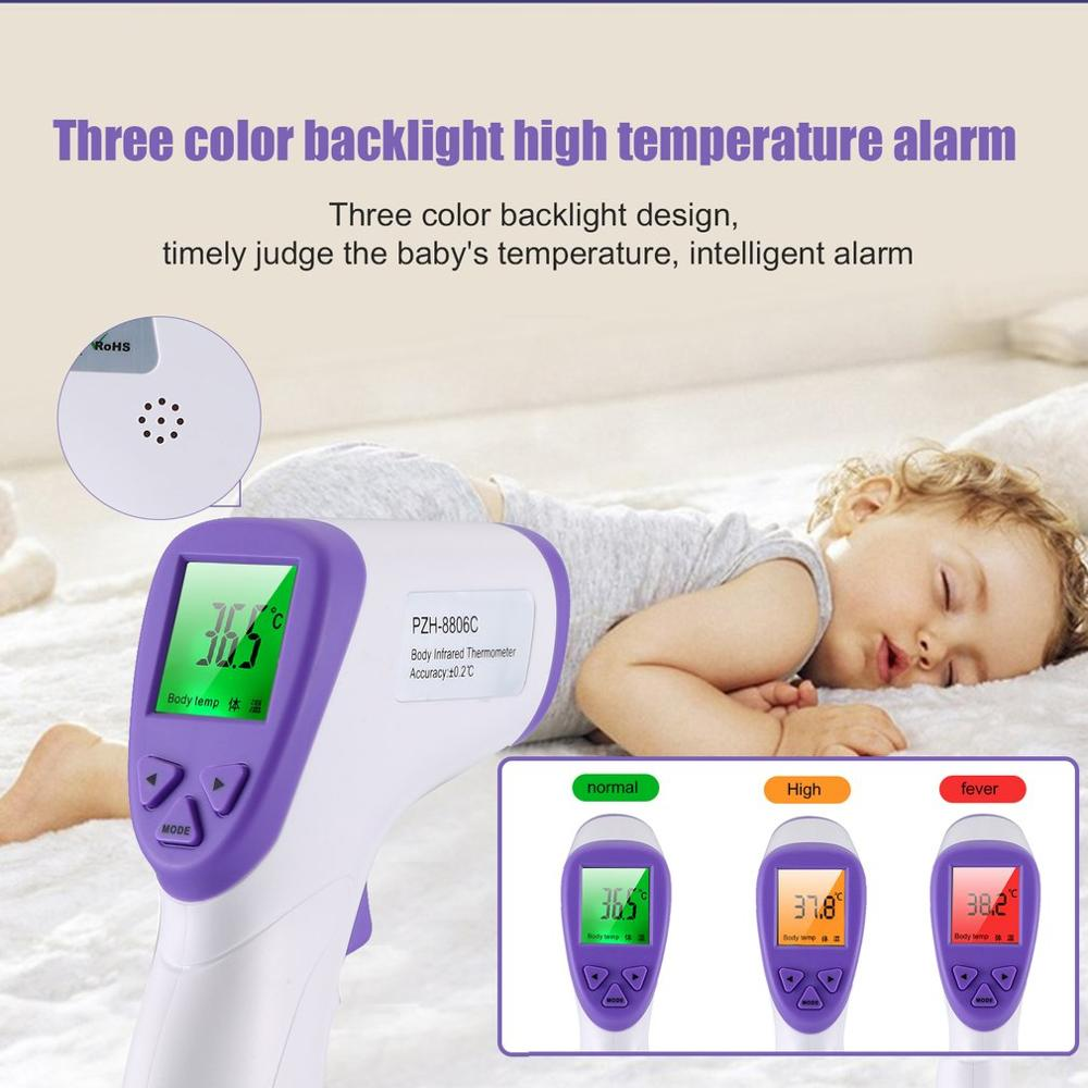Handheld Portable Non-Contact Infrared Thermometer High Precision Thermometer Industrial Temperature Meter Tool