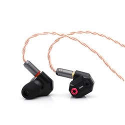 Shuoer Band Elektrostatische Fahrer HiFi In-ohr Kopfhörer mit Abnehmbare MMCX 2,5 mmCable für Audiophile Musiker