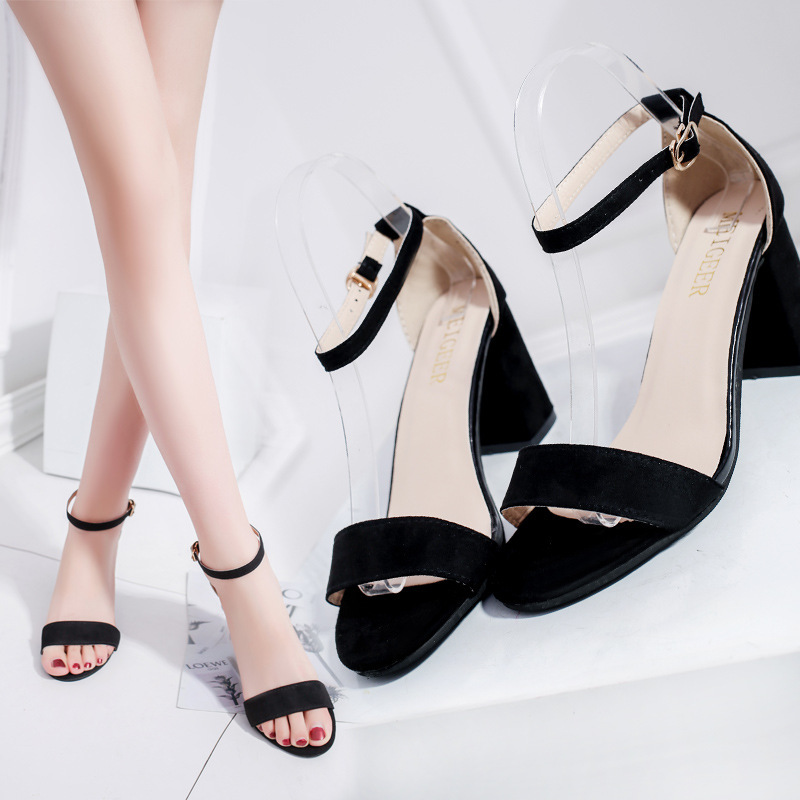 Summer Sandals Slippers For Women Thin High Heels Sandals Women Shoes Sexy Slippers High Heeled Black Yellow Sandalias Mujer
