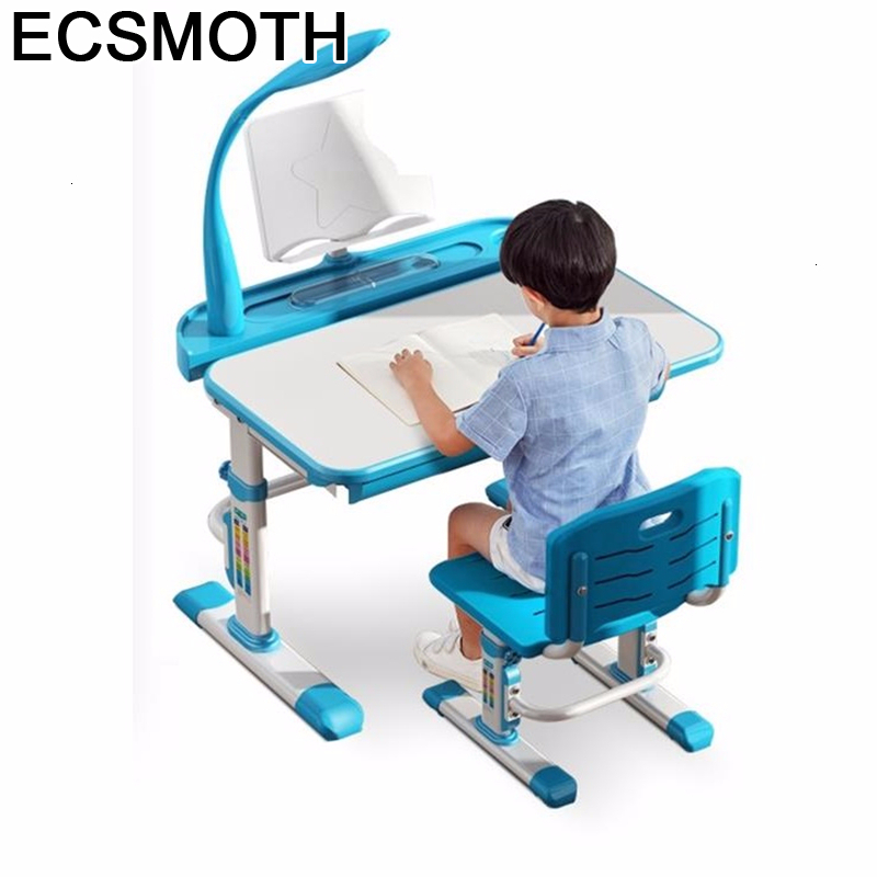 Cocuk Masasi Child Scrivania Bambini Desk Kindertisch And Chair Adjustable Bureau Enfant Mesa Infantil Study Table For Kids