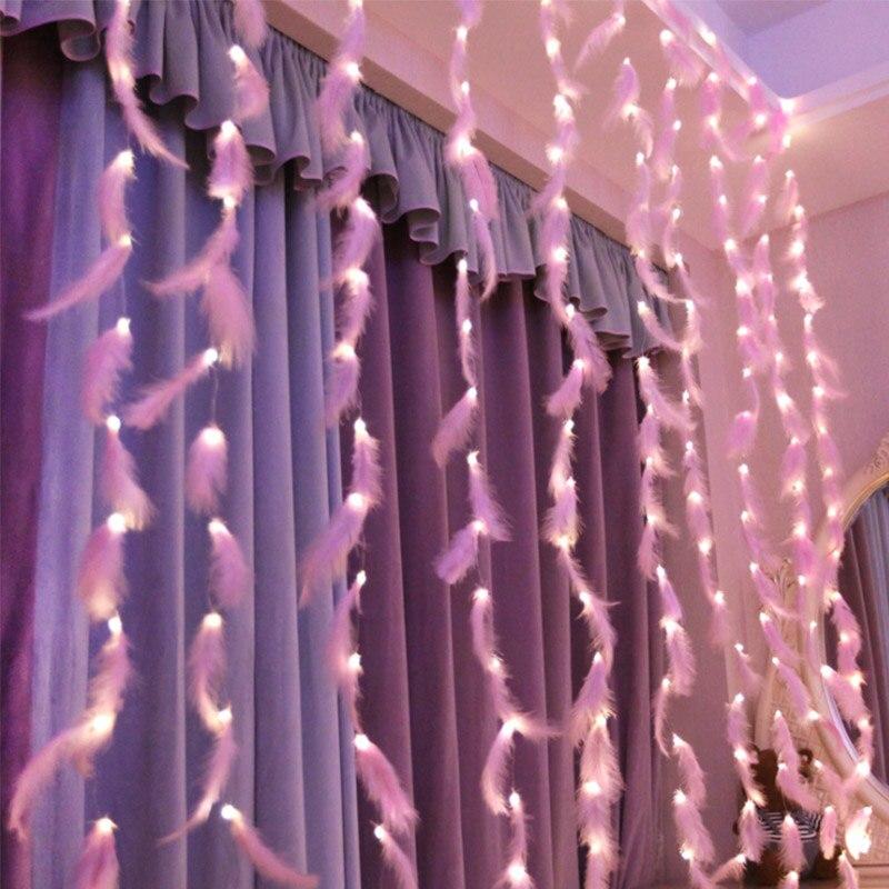 LED Fairy Light USB Garland On Window  Curtain Decoration Outdoor Home For Wedding Birthday Party Garden Backdrop Decor