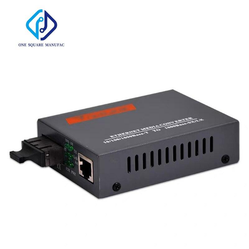 NetLink HTB-GM-03 Convertisseur de Média Ethernet 2km SC RJ45 10/100/1000Base-T À 1000Base-SX/LX Fiber Multimode Convertisseur
