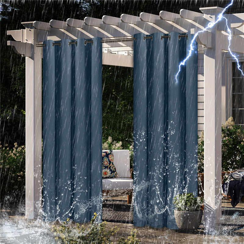 pergola impermeable para exteriores cortina para jardin patio para oscurecer completamente dormitorio sala de estar cuarto de bano